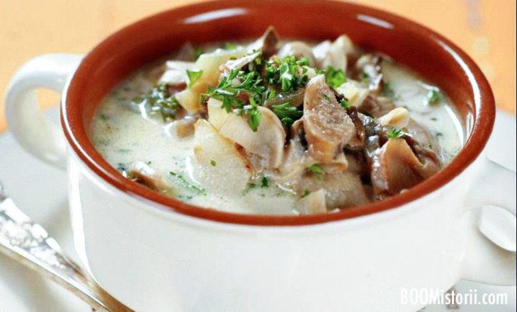 Суп с картофелем